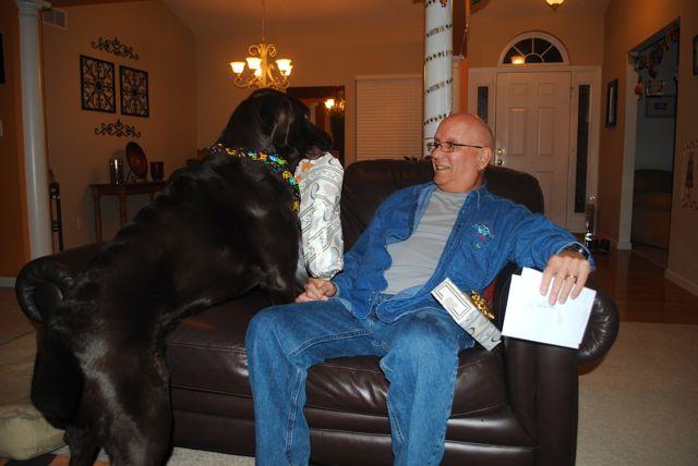 Charley & dad 3.29.14